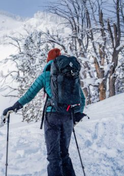 Skitourengehen am Lachtal